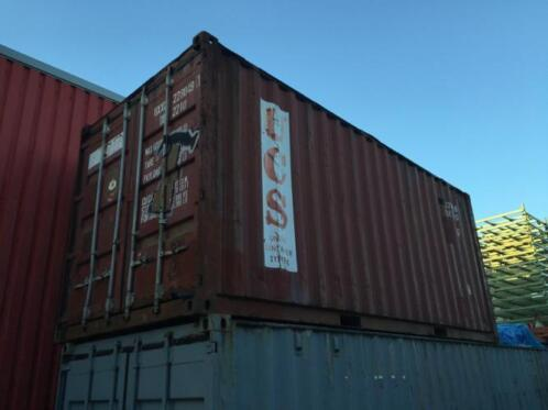 20 Ft container zeecontainer opslag