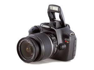 CANON EOS REBEL T3 CAMERA WITH LENS