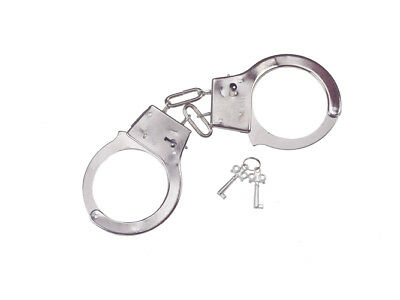 Jail Metal Handcuffs Accessory for Halloween Costume for sale  Shipping to India