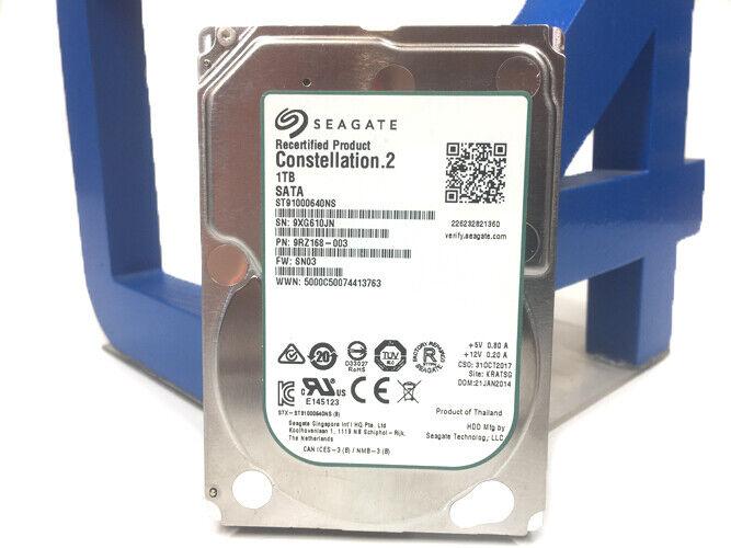 SEAGATE ST91000640NS 1TB 2.5 SATA 6GBPS ENTERPRISE HDD