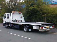 24-7 CHEAP CAR BIKE VAN RECOVERY TOW TRUCK ROADSIDE VEHICLE BREAKDOWN RECOVERY TRANSPORT ALL UK