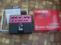 BOSS RC-20XL Loopstation Phrase Recorder