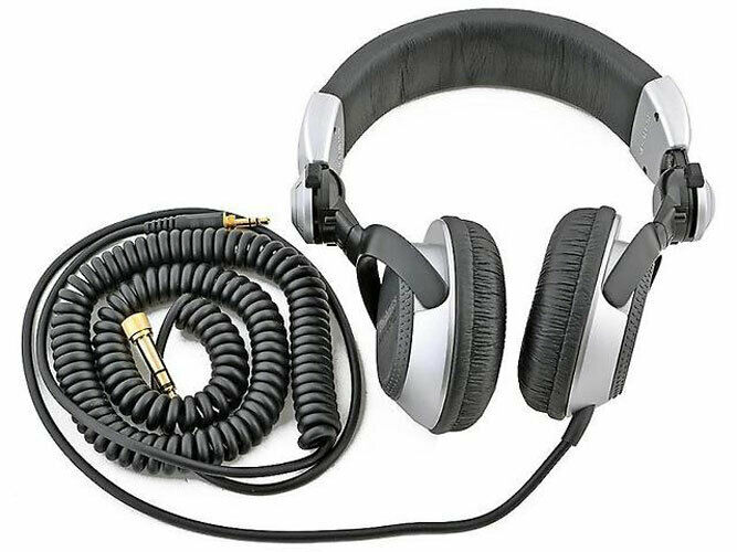 Technics RP-DJ1210 Dj Headphones Black Silver New + Original