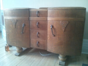 Antique Hairy Chest