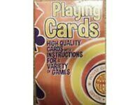 House of Marbles Playing Cards **2 packs for £1** New unused and sealed