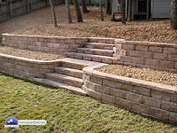 cn you build a retaining wall?
