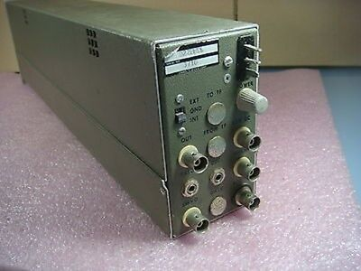 Unholtz Dickie D22 Series Charge Amplifier Model D22pmsl