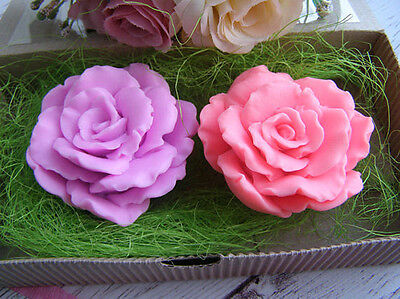 handmade Silicone Mold /Cake Decoration Mould/3D rose mold