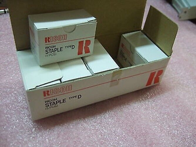 5 Pack x Ricoh Copier Staples Type D Staple New NIB