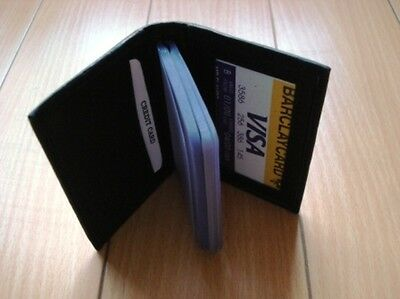 New Leather Credit Card & Business Card  Holder Wallet #237