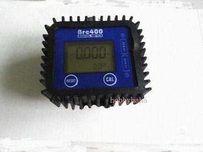 New 1 Pcs 1 Fuel Diesel Gasoline Kerosene Oil Oval Gear Flow Meter