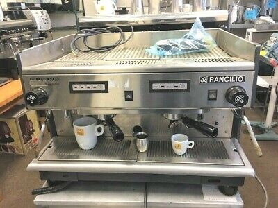 Cappuccino Rancilio Z11-omicron Commercial Espresso Machine 2 Group Made Italy