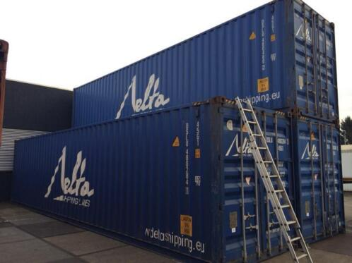 40ft High Cube Container Heavy Duty Direct beschikbaar Apeld