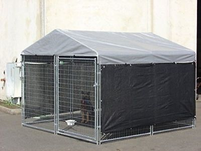 WIND SCREEN for Big Dog Kennel Cage Pet Extra Large Outdoor Heavy Duty Portable