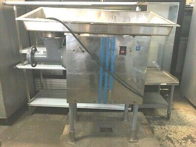 Meat Grinder Biro 5 Hp And Commercial Sausage Maker 208-220 V 14 Amps 3 Phase