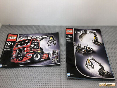 Lego Technic Truck With Pneumatic Crane 8436