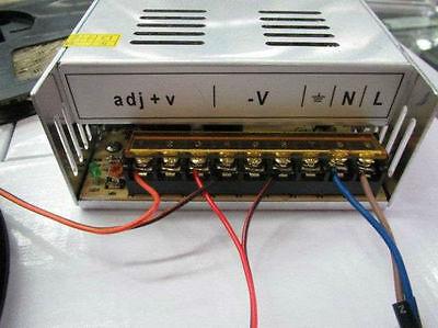 DC 12V 30A 360W Regulated DC Power Supply Transformer for LED Strip Light