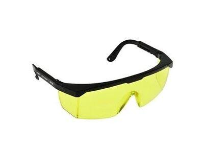 Schutzbrille Augenschutz Brille Arbeitsschutz EN166 Getönt gelb Laser