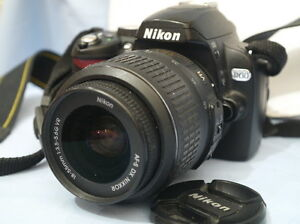 ALMOST BRAND NEW NIKON D60 WITH NIKON DX AF-S 18-55MM