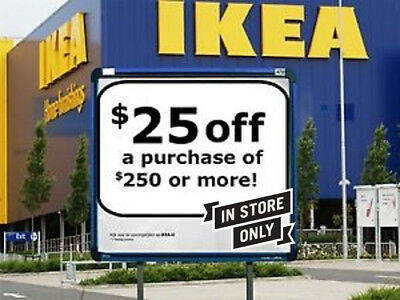 Ikea Coupon 25 Off 250 All Purchasein Store Only Exp Aug 102019 Click Here