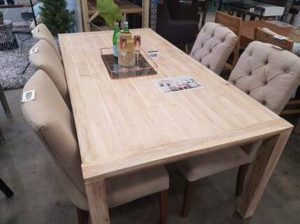 Oyster Bay Dining Table★★EX-Rental, Display furniture sale★★