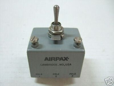 Airpax Magnetic Circuit Breaker 3pole M3901906-216 New