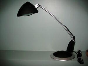 LIKE NEW - Modern Architect Style Adjustable Halogen Lamp