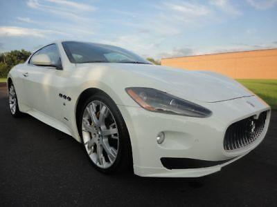 2012 Maserati Gran Turismo Sport 2012 MASERATI GRAN TURISMO SPORT LOW MILES 4.7L V8 CLEAN CARFAX WE FINANCE