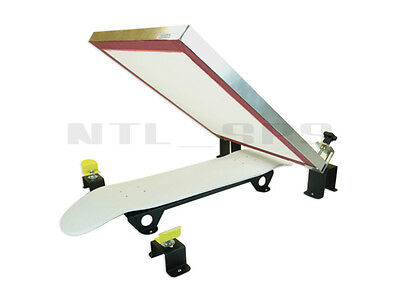 Silk Skates Diy Skateboard Screen Printing Press Skateboarding Printer Machine
