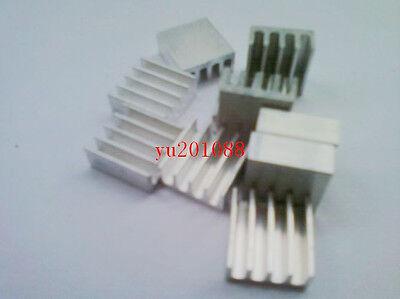 10pcs 11x11x5mm DIY White Aluminum Heat Sink for ICs LED