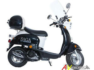 New SAGA Quest 49cc Gas Scooter/Moped on January SUPER SALE Now! Edmonton Edmonton Area image 9