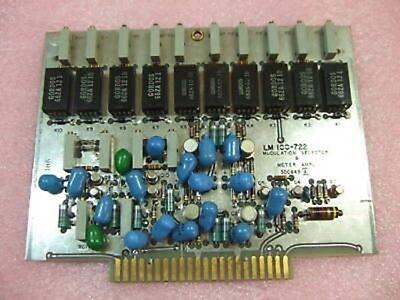 Lm-100-722 Modulation Selector 8 Modulator Meter Ampl