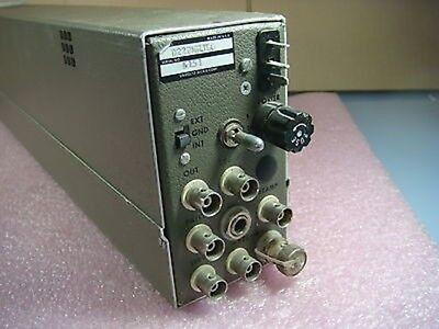 Unholtz Dickie D22 Series Charge Amplifier Model D22pmhjlo