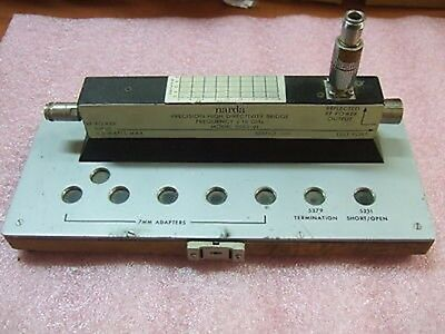 Narda 5082-01 Precision High Directivity Bridge 2-18 Ghz With Stand