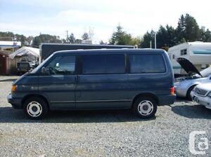 recherche activement un Eurovan