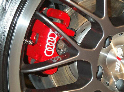 AUDI Brake Caliper Calliper Decals Stickers A2 A3 A4 A5 A6 S2 S3 TT ALL OPTIONS