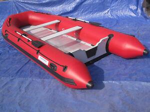 New Aquamarine12.5 ft Inflatable Boat with aluminum floor - SALE