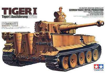 Tamiya Model 35227 1/35 WWII German Tiger I Initial Production Tank Initial Production Tank