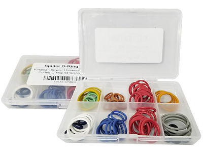 Kingman Spyder Universal 5x Color Coded O-ring Kit Color-Select
