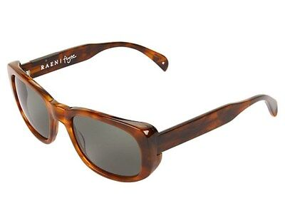 New RAEN Optics Flyte fly-023-GRN Square Sunglasses,Rootbeer,Green,54 mm