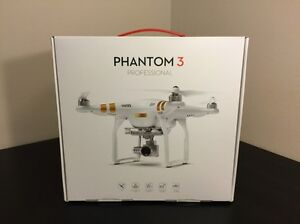 BRAND NEW DJI PHANTOM 3 PROFESSIONAL 4K + EXTRA BATTERY