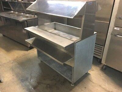 Steam Table 48 X 30 X 53h 3 Bowl Gas