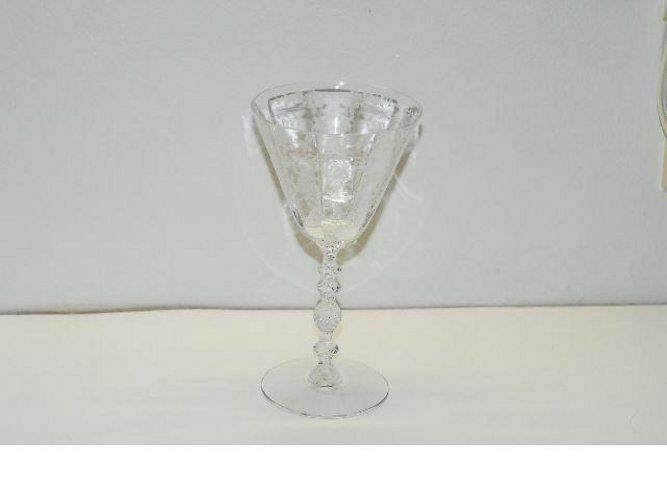 4 Cambridge DIANE 7.25 Inch WATER GOBLET GOBLETS