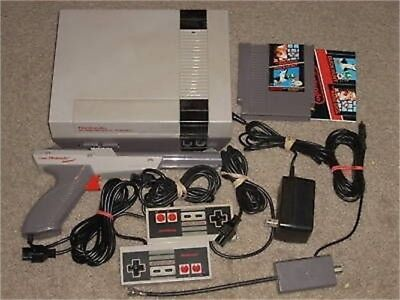 NINTENDO NES SYSTEM W/MARIO/DUCK HUNT & NEW 72 PIN