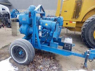 Gorman Rupp 6 Trash Water Pump 3 Cylinder Duetz Diesel With Hoses - 2 Available