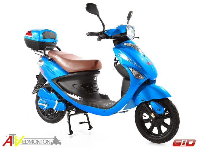 2016 gio italia 500 watt electric scooter brand new on. Black Bedroom Furniture Sets. Home Design Ideas