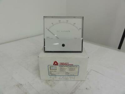 87540 New In Box Triplett 420-g Meter 0-50kvdc Panel Mount