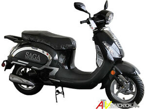 New SAGA Deluxe/Quest 150cc Gas Scooters in Edmonton on SALE!!