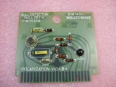 Sciaky Null Detector Det-a B-m7431 P-m7432a P-m7430