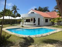 U$105,000 CABARETE Home in Gated Community Walk to Beach